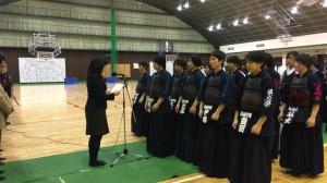 関学杯 表彰写真