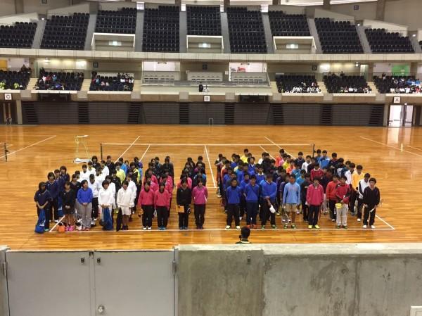 神戸市インドア開会式