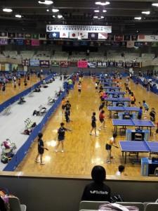 全国総体2013卓球01
