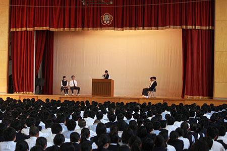 生徒会選挙1