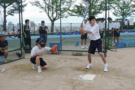 高校1年前期体育祭ソフトボール