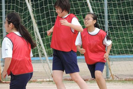 高校1年前期体育祭フットサル