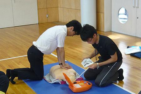 心肺蘇生講習会AED