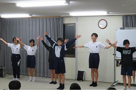 j1サマキャン4日目オリエン夜